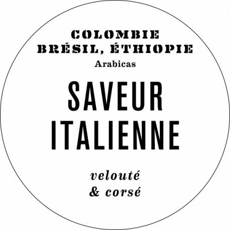 Café SAVEUR ITALIENNE - 250g en GRAINS
