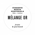 Café MELANGE OR - LOT 4x250g en GRAINS