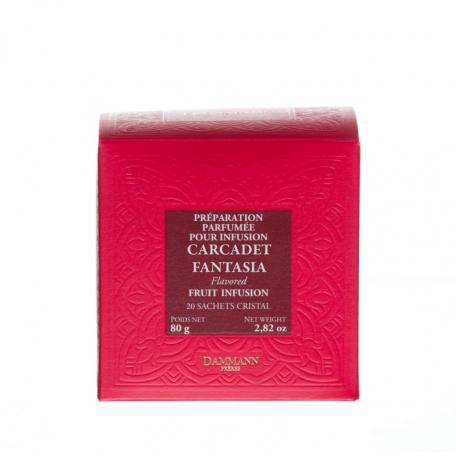 CARCADET FANTASIA - Boite 20 sachets Cristal individuels