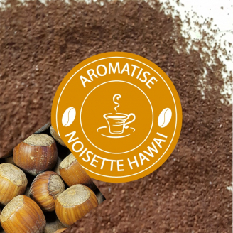 Café NOISETTE D'HAWAÏ - moulu