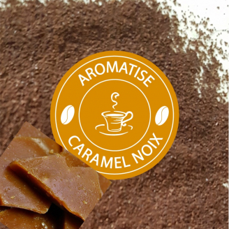 Café CARAMEL & NOIX - moulu