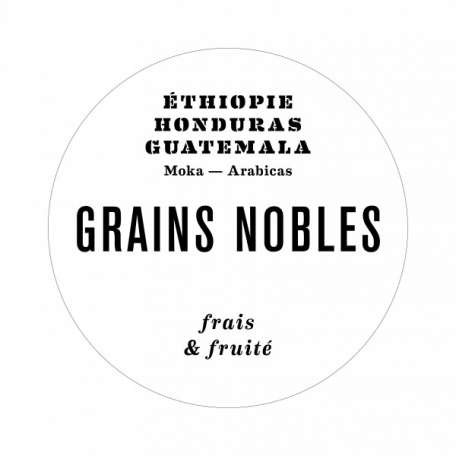Café GRAINS NOBLES - Lot 2x250 g moulu