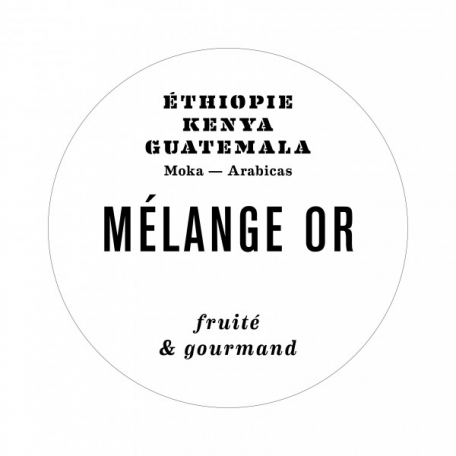 Café MELANGE OR - Lot 2x250 g moulu