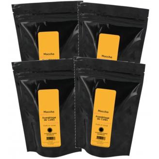 Café MOCCHA - Lot 4x18 (72) dosettes